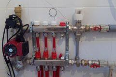 Разводка отопления отопления коллекторная группа