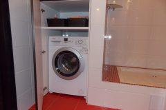 Нашлось местечко для стиральной машины