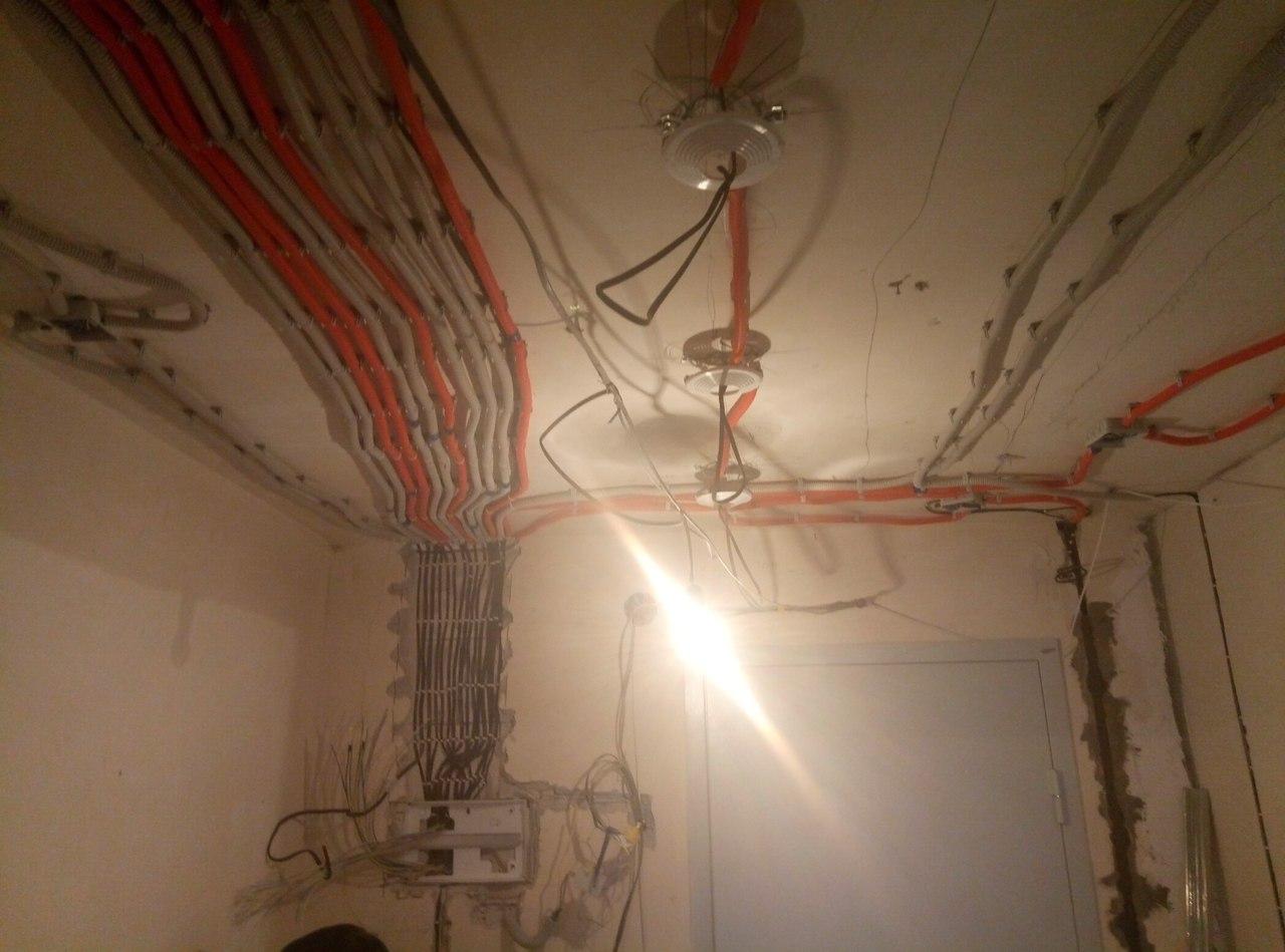 электромонтаж в квартирах