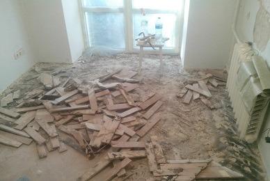 Демонтаж квартир